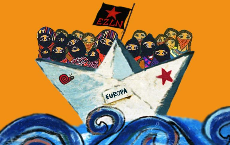 Chalecos amarillos serán anfitriones de los zapatistas